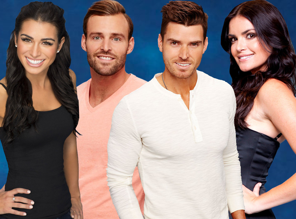 Luke Pell, Robby Hayes, Ashley Iaconetti, Courtney Robertson